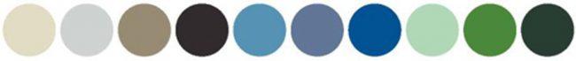 couleurs de serie pour clotures