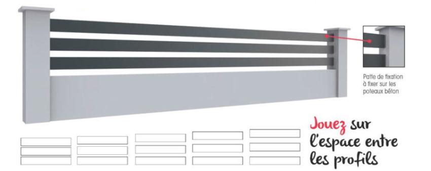 clotures profils